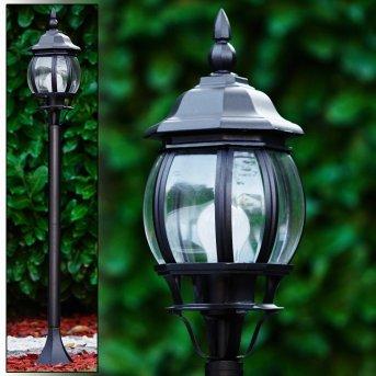 Borne lumineuse Lentua Noir, 1 lumière