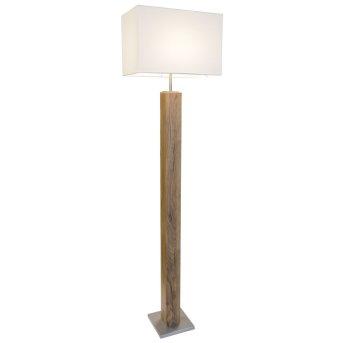 Lampadaire Nino Leuchten GUMP LED Bois clair, 1 lumière