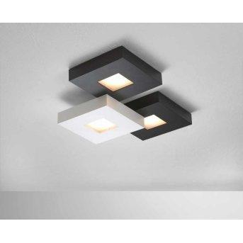 Plafonnier Bopp CUBUS LED Noir, Blanc, 3 lumières