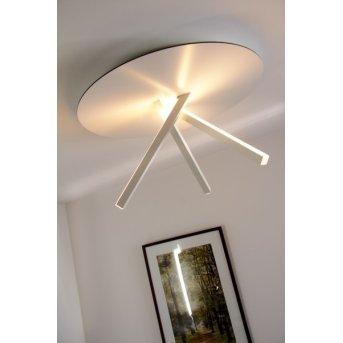 Plafonnier Evaluz Orion LED Blanc, 3 lumières