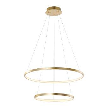 Suspension Leuchten Direkt CIRCLE LED Or, 1 lumière