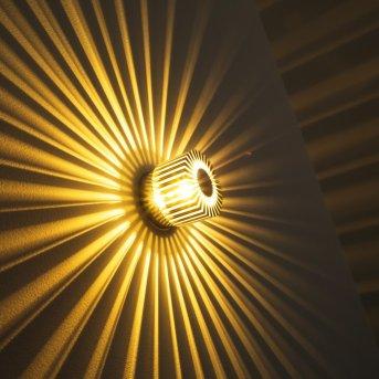 Applique Cantoni Nickel mat, 1 lumière