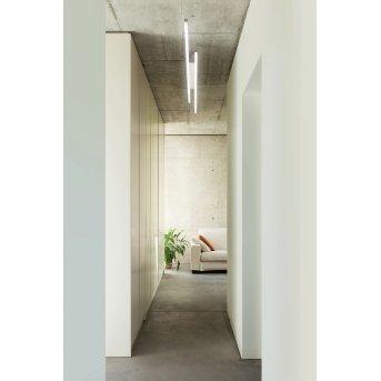 Plafonnier Grossmann FORTE LED Aluminium, 8 lumières