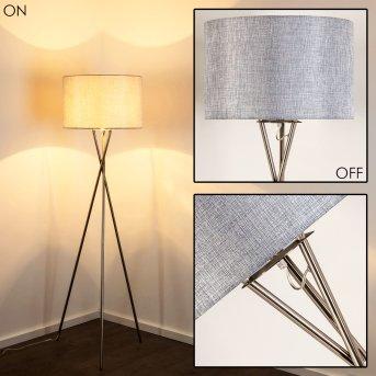 Lampadaire SOPELA Nickel mat, 1 lumière