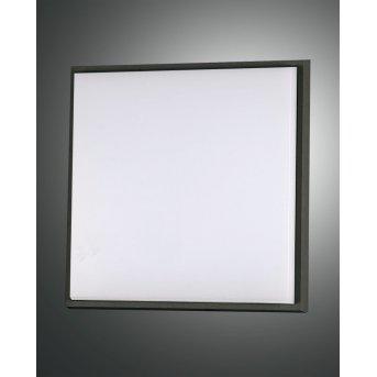 Plafonnier d'extérieur Fabas Luce Desdy LED Noir, 1 lumière