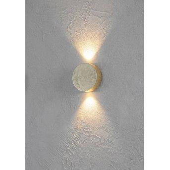 Applique Escale SUN LED Or, 2 lumières