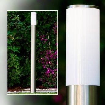 Lampadaire Caserta Acier inoxydable, 1 lumière