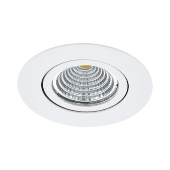 Spot encastrable Eglo SALICETO LED Blanc, 1 lumière