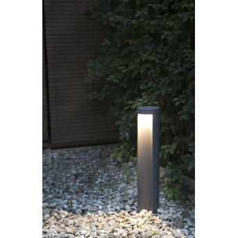 Borne Faro Chandra LED Anthracite, 1 lumière