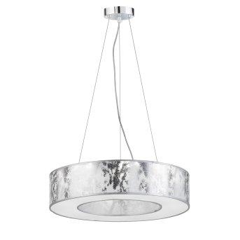 Suspension Wofi LEIKA LED Argenté, 1 lumière