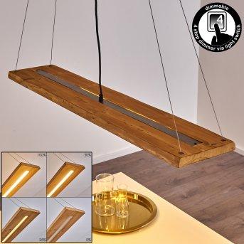 Suspension Adak LED Gris, 1 lumière