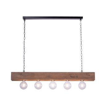Suspension Leuchten-Direkt VANESSA Noir, 5 lumières