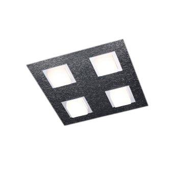 Plafonnier Grossmann BASIC LED Anthracite, 4 lumières