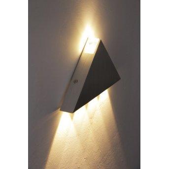 Applique murale Globo GORDON LED Chrome, Aluminium, Acier inoxydable, 5 lumières