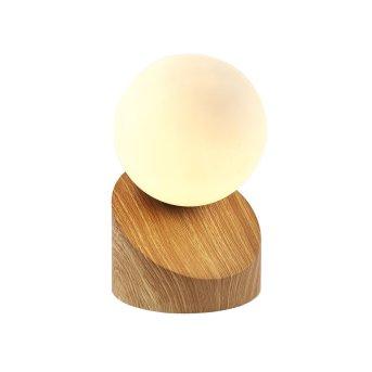 Lampe à poser Nino Leuchten ALISA LED Bois clair, 1 lumière