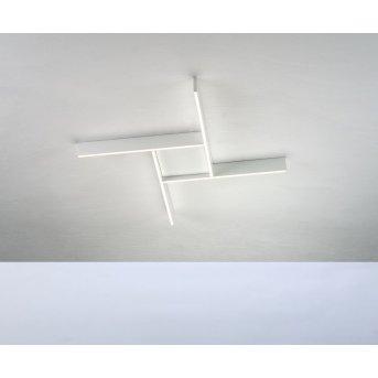 Plafonnier Bopp NANO PLUS COMFORT LED Aluminium, Blanc, 1 lumière