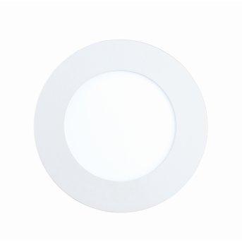 Spot encastrable Eglo FUEVA-C LED Blanc, 1 lumière, Changeur de couleurs