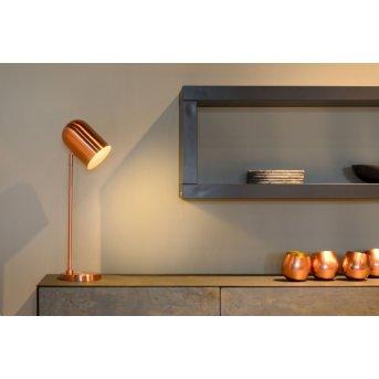 Lampe de table Lucide BLINY Cuivre, 1 lumière