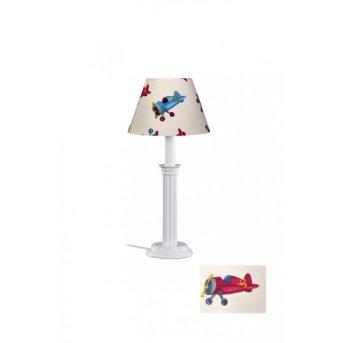 Lampe de table waldi Flugzeuge Blanc, 1 lumière