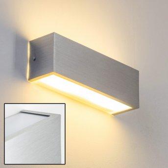 Applique murale Olbia LED Aluminium, 1 lumière