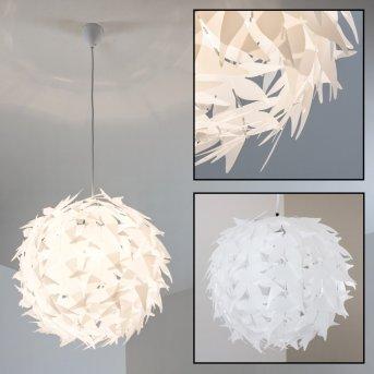 Plafonnier TAVANI Blanc, 1 lumière
