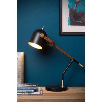 Lampe de table Lucide WAYLON Noir, 1 lumière