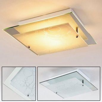 Plafonnier Riad Transparent, 2 lumières