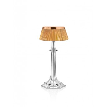 Lampe de table FLOS BON JOUR VERSAILLES SMALL LED Chrome, Transparent, 1 lumière