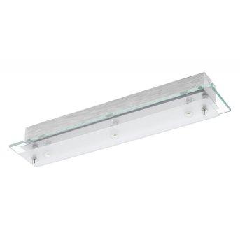 Applique ou plafonnier Eglo FRES 2 LED Chrome, 3 lumières
